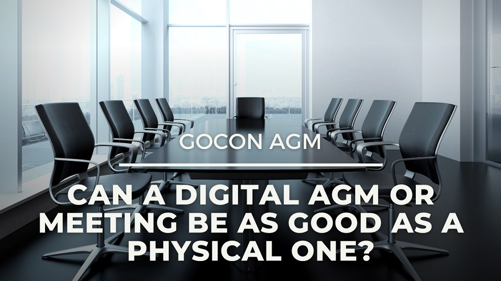 Can a digital AGM or meeting be as good as a physical one?