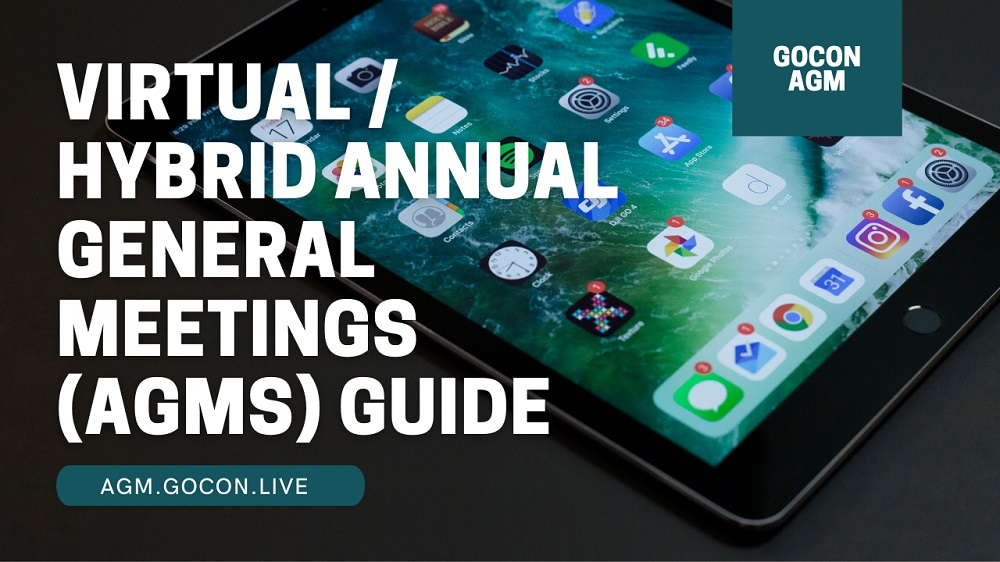 Virtual / Hybrid Annual General Meetings (AGMs) Guide