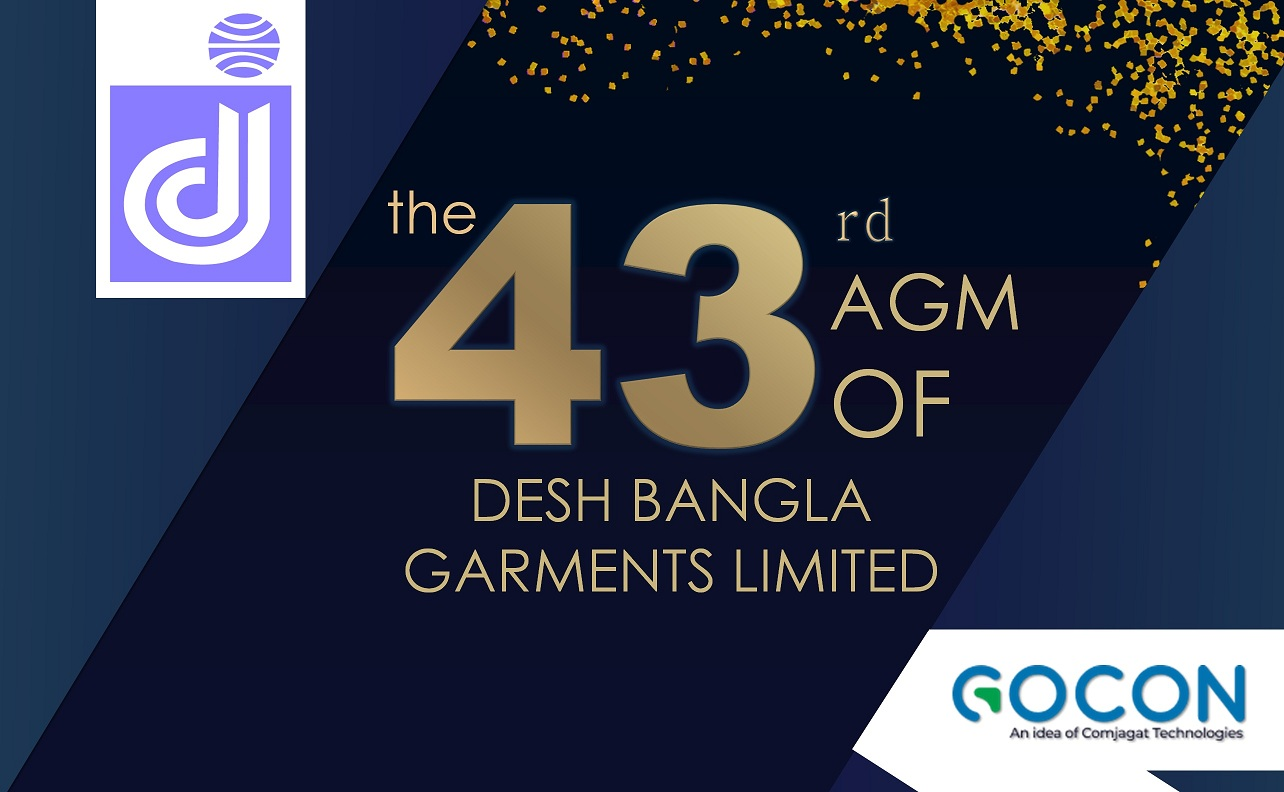 Desh Bangla Garments Limited holds 43rd AGM virtually