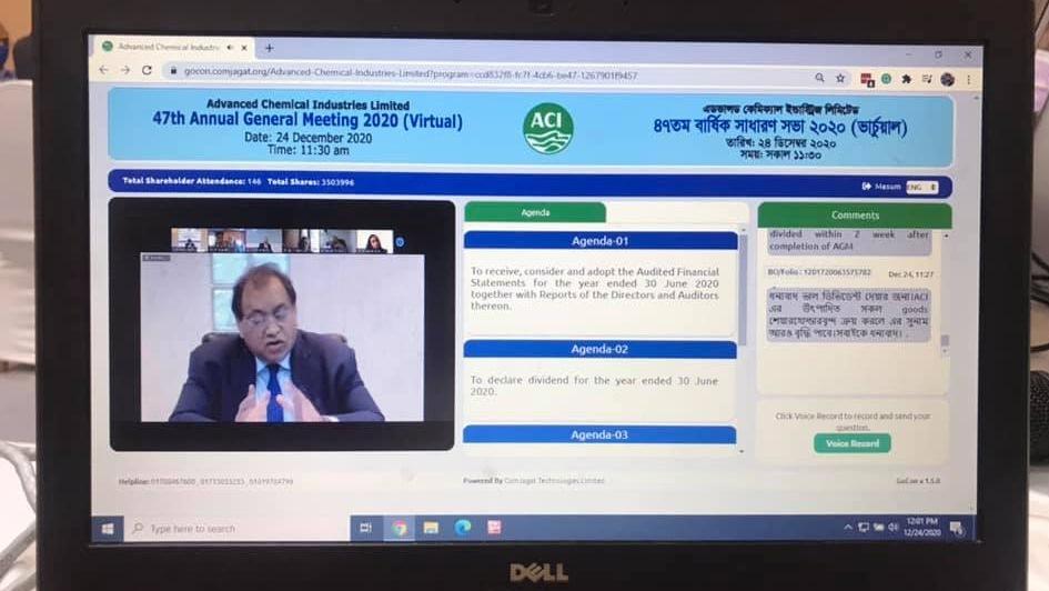 ACI Limited holds virtual AGM
